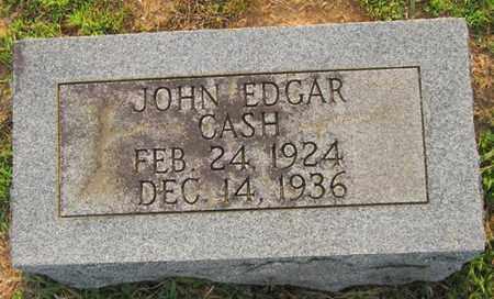 CASH, JOHN EDGAR - Clinton County, Kentucky   JOHN EDGAR CASH - Kentucky Gravestone Photos