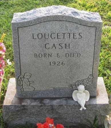 CASH, LOUGETTES - Clinton County, Kentucky   LOUGETTES CASH - Kentucky Gravestone Photos