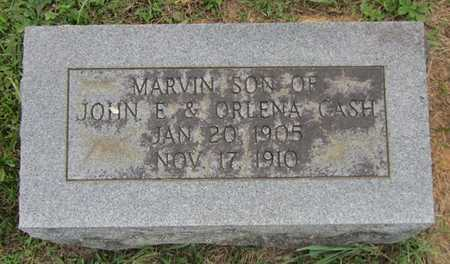 CASH, MARVIN - Clinton County, Kentucky | MARVIN CASH - Kentucky Gravestone Photos