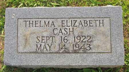 CASH, THELMA ELIZABETH - Clinton County, Kentucky | THELMA ELIZABETH CASH - Kentucky Gravestone Photos