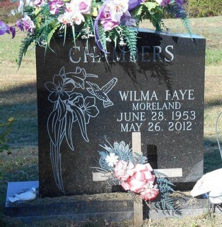 CHAMBER, WILMA FAYE - Clinton County, Kentucky   WILMA FAYE CHAMBER - Kentucky Gravestone Photos
