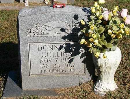 COLLINS, DONNIE M - Clinton County, Kentucky | DONNIE M COLLINS - Kentucky Gravestone Photos