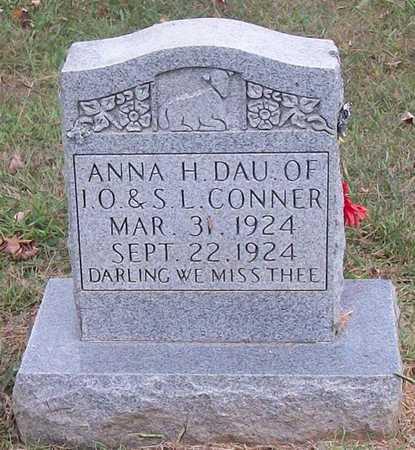 CONNER, ANNA H - Clinton County, Kentucky | ANNA H CONNER - Kentucky Gravestone Photos