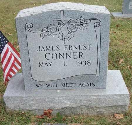 CONNER, JAMES ERNEST - Clinton County, Kentucky | JAMES ERNEST CONNER - Kentucky Gravestone Photos