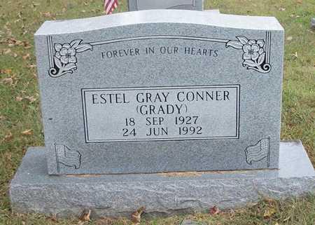 "CONNER, ESTEL GRAY ""GRADY"" - Clinton County, Kentucky   ESTEL GRAY ""GRADY"" CONNER - Kentucky Gravestone Photos"