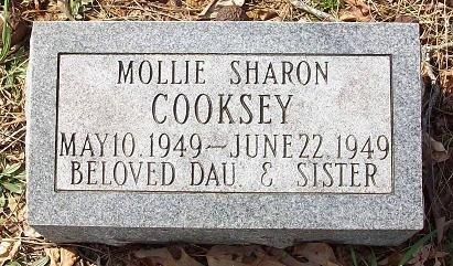 COOKSEY, MOLLIE SHARON - Clinton County, Kentucky | MOLLIE SHARON COOKSEY - Kentucky Gravestone Photos