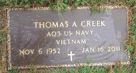 CREEK (VETERAN VIET), THOMAS A - Clinton County, Kentucky | THOMAS A CREEK (VETERAN VIET) - Kentucky Gravestone Photos