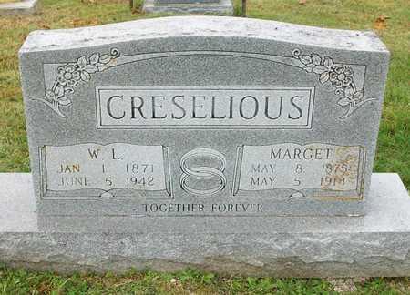 CRESELIOUS, MARGET - Clinton County, Kentucky | MARGET CRESELIOUS - Kentucky Gravestone Photos