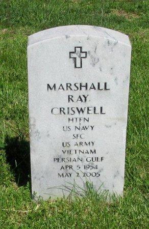 CRISWELL (VET), MARSHALL RAY - Clinton County, Kentucky | MARSHALL RAY CRISWELL (VET) - Kentucky Gravestone Photos