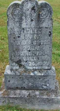 CROSS, WILLIE - Clinton County, Kentucky | WILLIE CROSS - Kentucky Gravestone Photos