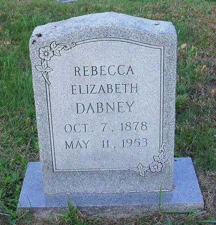 DABNEY, REBECCA ELIZABETH - Clinton County, Kentucky   REBECCA ELIZABETH DABNEY - Kentucky Gravestone Photos