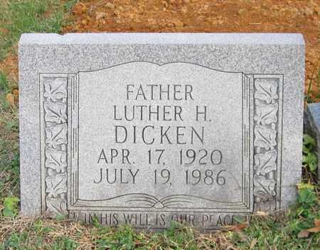 DICKEN, LUTHER HARLEY - Clinton County, Kentucky | LUTHER HARLEY DICKEN - Kentucky Gravestone Photos