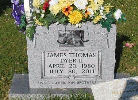 DYER, JAMES THOMAS - Clinton County, Kentucky | JAMES THOMAS DYER - Kentucky Gravestone Photos