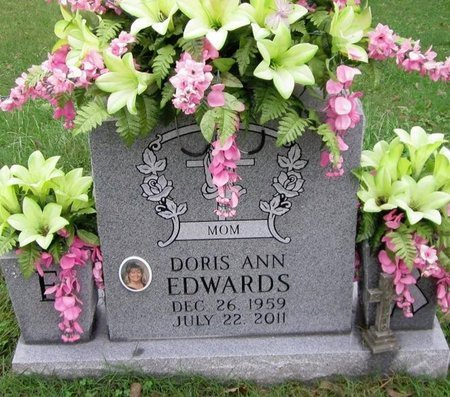 EDWARDS, DORIS ANN - Clinton County, Kentucky | DORIS ANN EDWARDS - Kentucky Gravestone Photos