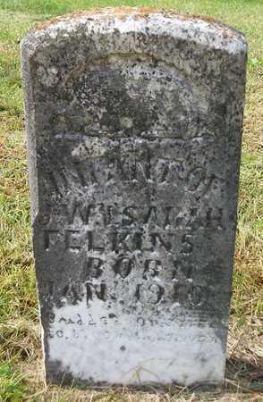 FELKINS, INFANT - Clinton County, Kentucky | INFANT FELKINS - Kentucky Gravestone Photos
