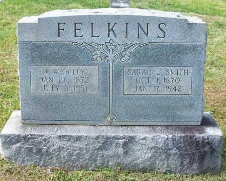 SMITH FELKINS, SARAH J - Clinton County, Kentucky | SARAH J SMITH FELKINS - Kentucky Gravestone Photos