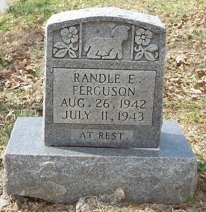 FERGUSON, RANDLE E - Clinton County, Kentucky | RANDLE E FERGUSON - Kentucky Gravestone Photos