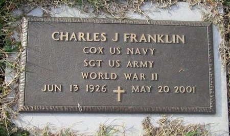 FRANKLIN (VETERAN WWII), CHARLES JOSEPH (NEW) - Clinton County, Kentucky | CHARLES JOSEPH (NEW) FRANKLIN (VETERAN WWII) - Kentucky Gravestone Photos