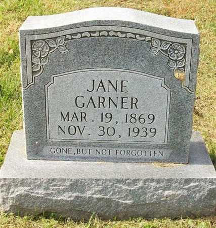 GARNER, JANE - Clinton County, Kentucky   JANE GARNER - Kentucky Gravestone Photos