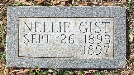 GIST, NELLIE - Clinton County, Kentucky | NELLIE GIST - Kentucky Gravestone Photos