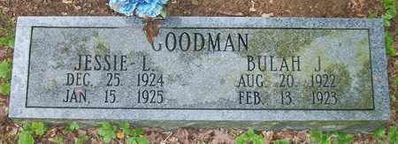 GOODMAN, BULAH J - Clinton County, Kentucky | BULAH J GOODMAN - Kentucky Gravestone Photos