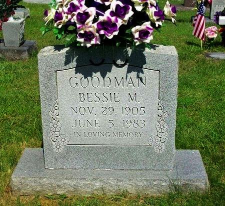 GOODMAN, BESSIE MAE - Clinton County, Kentucky | BESSIE MAE GOODMAN - Kentucky Gravestone Photos