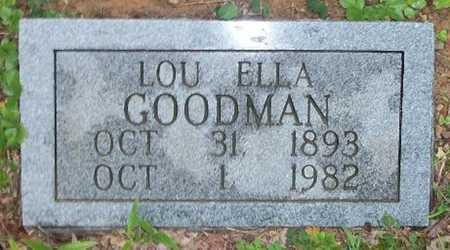 GOODMAN, LOU ELLA - Clinton County, Kentucky | LOU ELLA GOODMAN - Kentucky Gravestone Photos