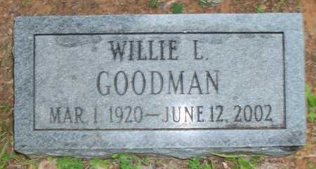 GOODMAN, WILLIE L - Clinton County, Kentucky   WILLIE L GOODMAN - Kentucky Gravestone Photos
