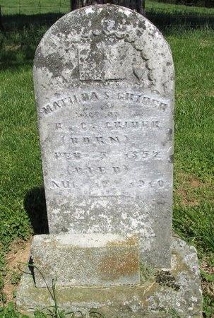 RYAN GRIDER, MATILDA S - Clinton County, Kentucky   MATILDA S RYAN GRIDER - Kentucky Gravestone Photos