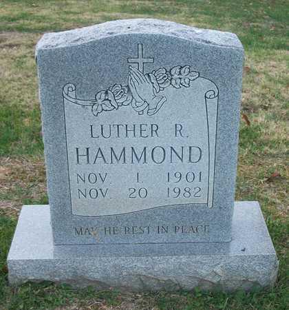 HAMMOND, LUTHER R - Clinton County, Kentucky | LUTHER R HAMMOND - Kentucky Gravestone Photos