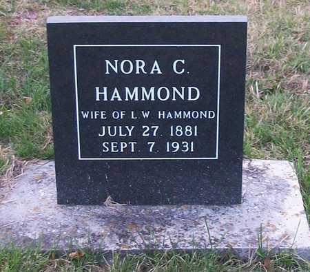 HAMMOND, NORA C - Clinton County, Kentucky | NORA C HAMMOND - Kentucky Gravestone Photos