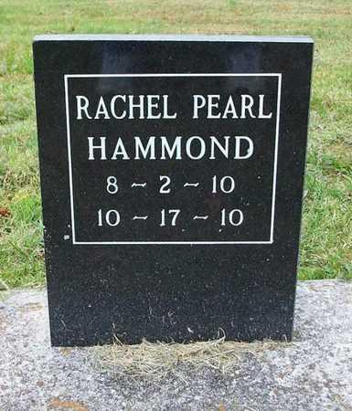 HAMMOND, RACHEL PEARL - Clinton County, Kentucky | RACHEL PEARL HAMMOND - Kentucky Gravestone Photos