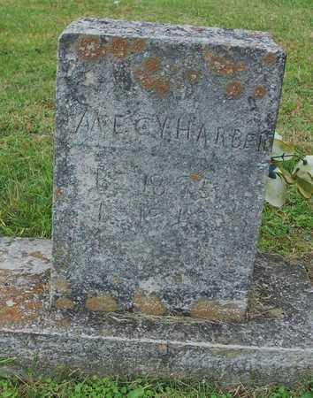HARBER, MECY - Clinton County, Kentucky   MECY HARBER - Kentucky Gravestone Photos