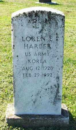 HARBER (VETERAN KOR), LOREN E - Clinton County, Kentucky | LOREN E HARBER (VETERAN KOR) - Kentucky Gravestone Photos
