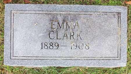 CLARK HUFF, EMMA - Clinton County, Kentucky | EMMA CLARK HUFF - Kentucky Gravestone Photos