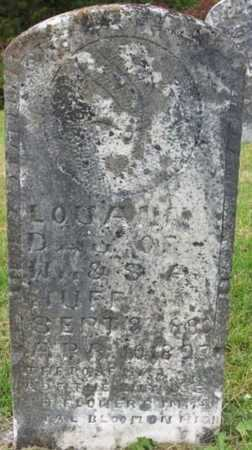 HUFF, LOUANN - Clinton County, Kentucky | LOUANN HUFF - Kentucky Gravestone Photos