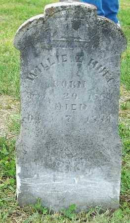 HUFF, WILLIE Z - Clinton County, Kentucky | WILLIE Z HUFF - Kentucky Gravestone Photos