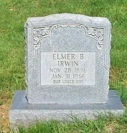 IRWIN, ELMER B - Clinton County, Kentucky | ELMER B IRWIN - Kentucky Gravestone Photos