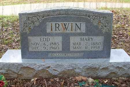 IRWIN, MARY - Clinton County, Kentucky | MARY IRWIN - Kentucky Gravestone Photos