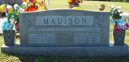 SCOTT MADISON, MAXINE - Clinton County, Kentucky | MAXINE SCOTT MADISON - Kentucky Gravestone Photos