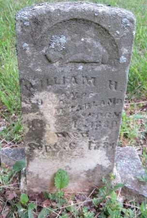 MCFARLAND, WILLIAM H - Clinton County, Kentucky | WILLIAM H MCFARLAND - Kentucky Gravestone Photos