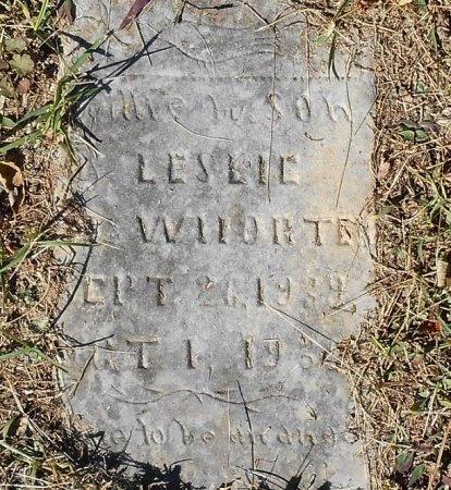 MCWHORTER, LESLIE - Clinton County, Kentucky | LESLIE MCWHORTER - Kentucky Gravestone Photos