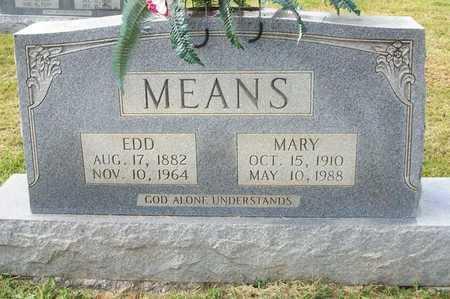 MEANS, EDD - Clinton County, Kentucky | EDD MEANS - Kentucky Gravestone Photos