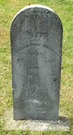 MELTON, CATHERINE - Clinton County, Kentucky | CATHERINE MELTON - Kentucky Gravestone Photos