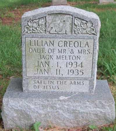 MELTON, LILIAN CREOLA - Clinton County, Kentucky   LILIAN CREOLA MELTON - Kentucky Gravestone Photos