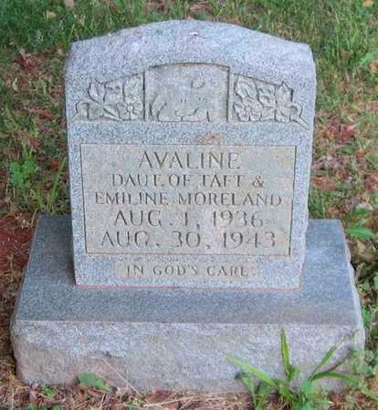 MORELAND, AVALINE - Clinton County, Kentucky | AVALINE MORELAND - Kentucky Gravestone Photos