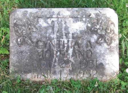 MORELAND, CYNTHIA A - Clinton County, Kentucky | CYNTHIA A MORELAND - Kentucky Gravestone Photos