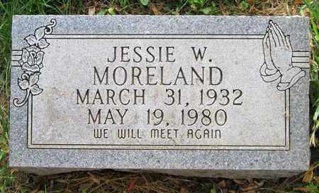 MORELAND, JESSIE W - Clinton County, Kentucky | JESSIE W MORELAND - Kentucky Gravestone Photos