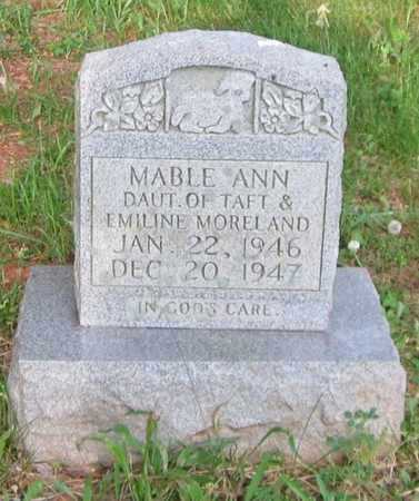 MORELAND, MABLE ANN - Clinton County, Kentucky | MABLE ANN MORELAND - Kentucky Gravestone Photos