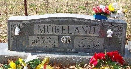 MORELAND, ANNIE MYRTLE - Clinton County, Kentucky   ANNIE MYRTLE MORELAND - Kentucky Gravestone Photos